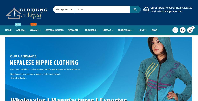 clothing in nepal affiliate marketing program